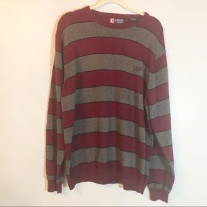 Chaps stripped sweater new with out tags